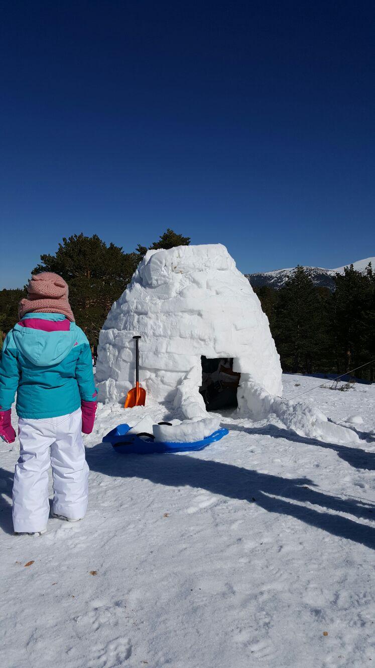 Actividades en la nieve para niños