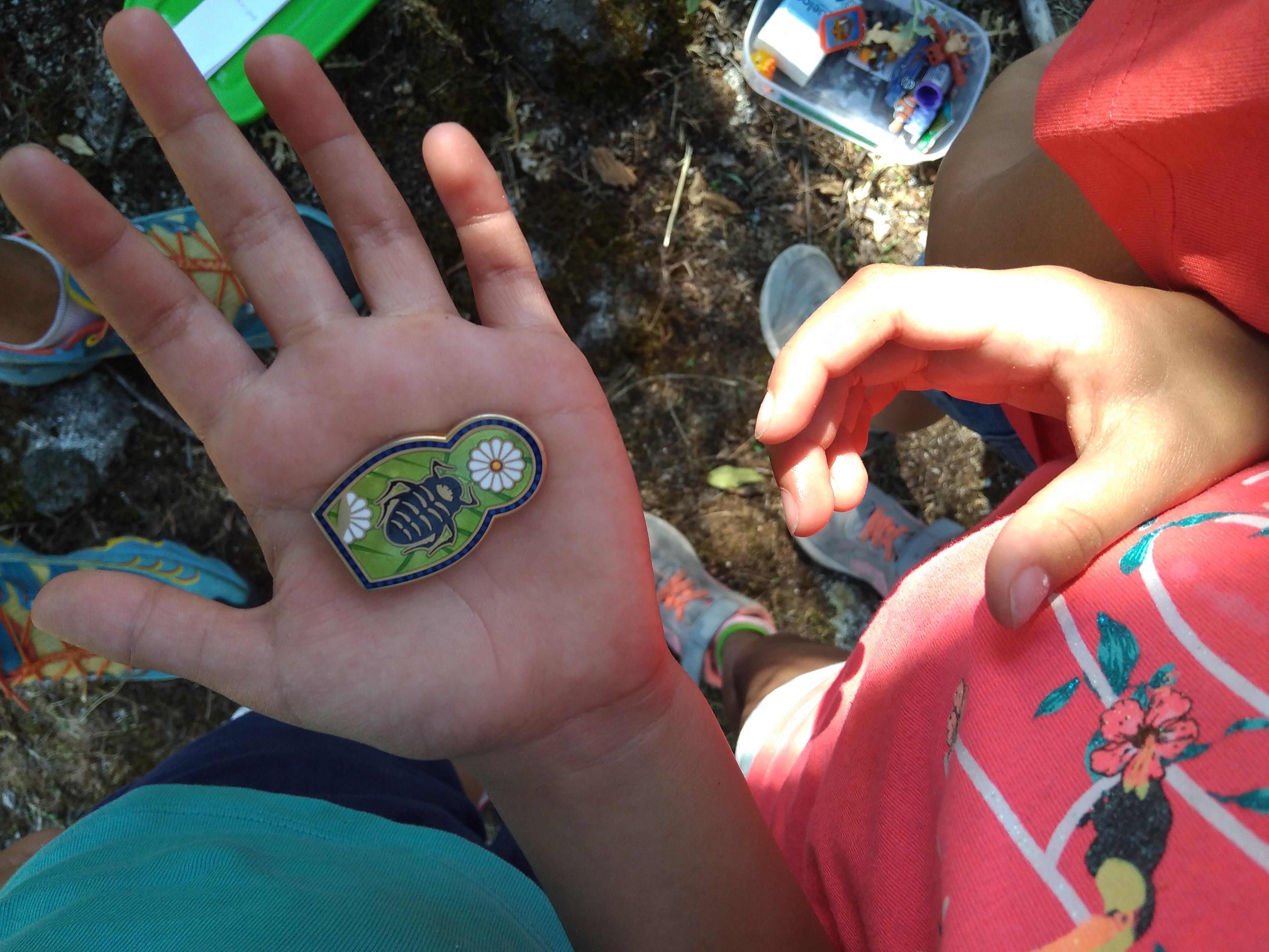 Geocaching niños