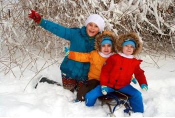 Actividades niños nieve