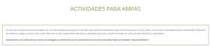 actividades AMPAS