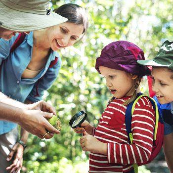 Actividades de orientación con niños
