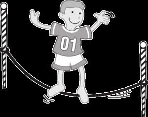 juego al aire libre en excursiones para niños de primaria